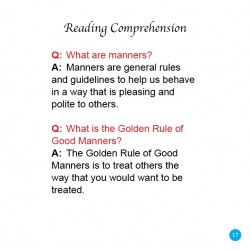 Manners, Leadership, Logic (Sample 3)