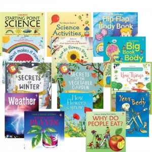 usborne science curriculum set