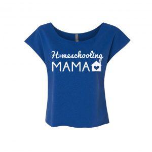 homeschooling mama t shirt