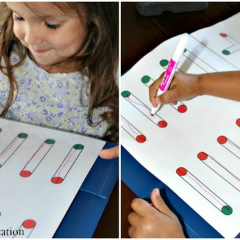Free Preschool Handwriting Worksheets!